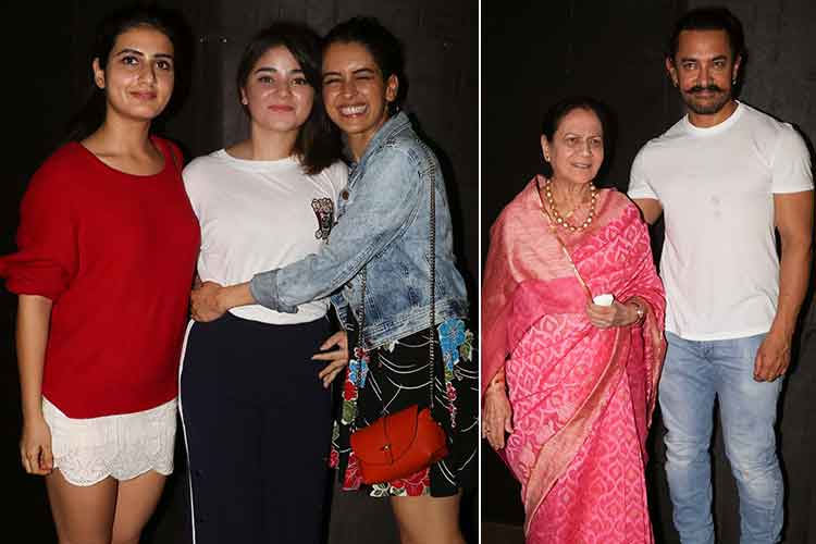 Secret Superstar special screening pics