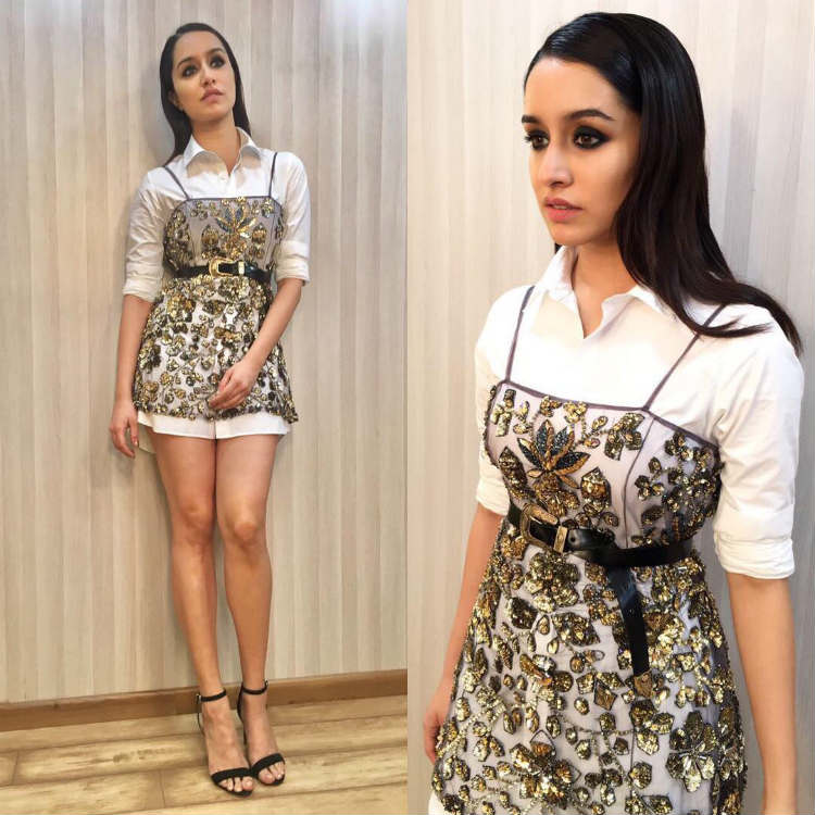 Shraddha Kapoor during the promotions of Haseena Parkar