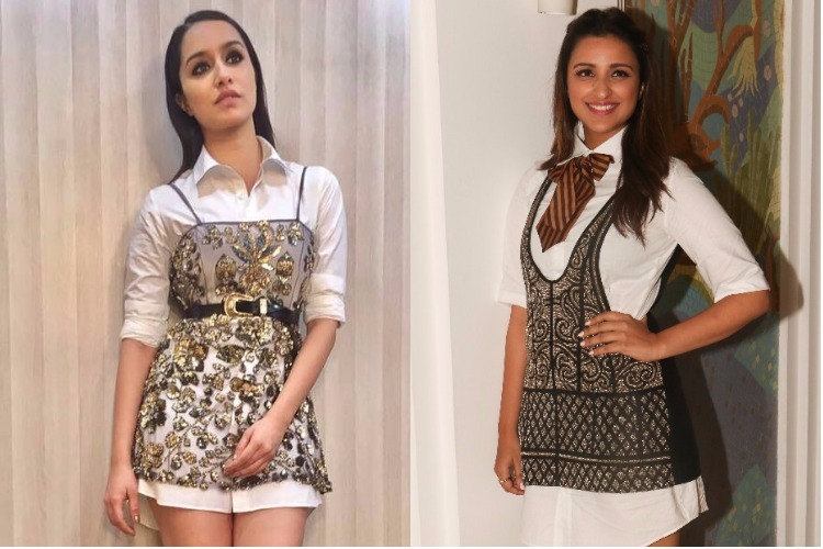 'Dress over shirt' is a latest trend, we don't want Parineeti Chopra and Shraddha Kapoor to repeat