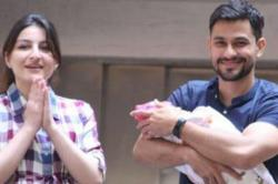 These photos of Soha Ali Khan - Kunal Khemu with their newborn Inaaya speak volume of their happiness