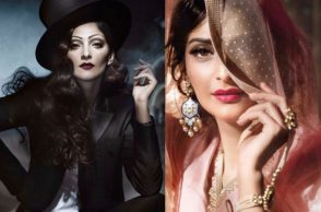 Photoshoot of Sonam Kapoor for a magazine