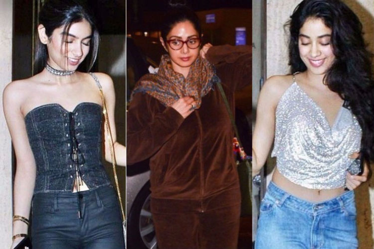 It's high time Sridevi learns some fashion basics from daughters Jhanvi and Khushi Kapoor
