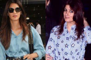 Kriti Sanon, Twinkle Khanna