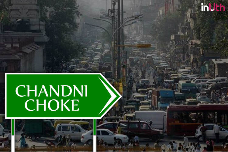 Chandni Chowk has become Chandni Choke | Photo created for InUth.com