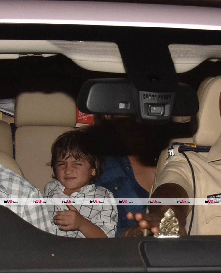 AbRam Khan at Aaradhya's birthday bash