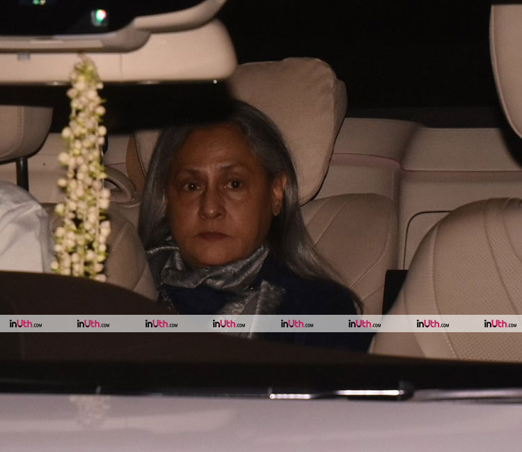 Jaya Bachchan at Aaradhya's birthday party