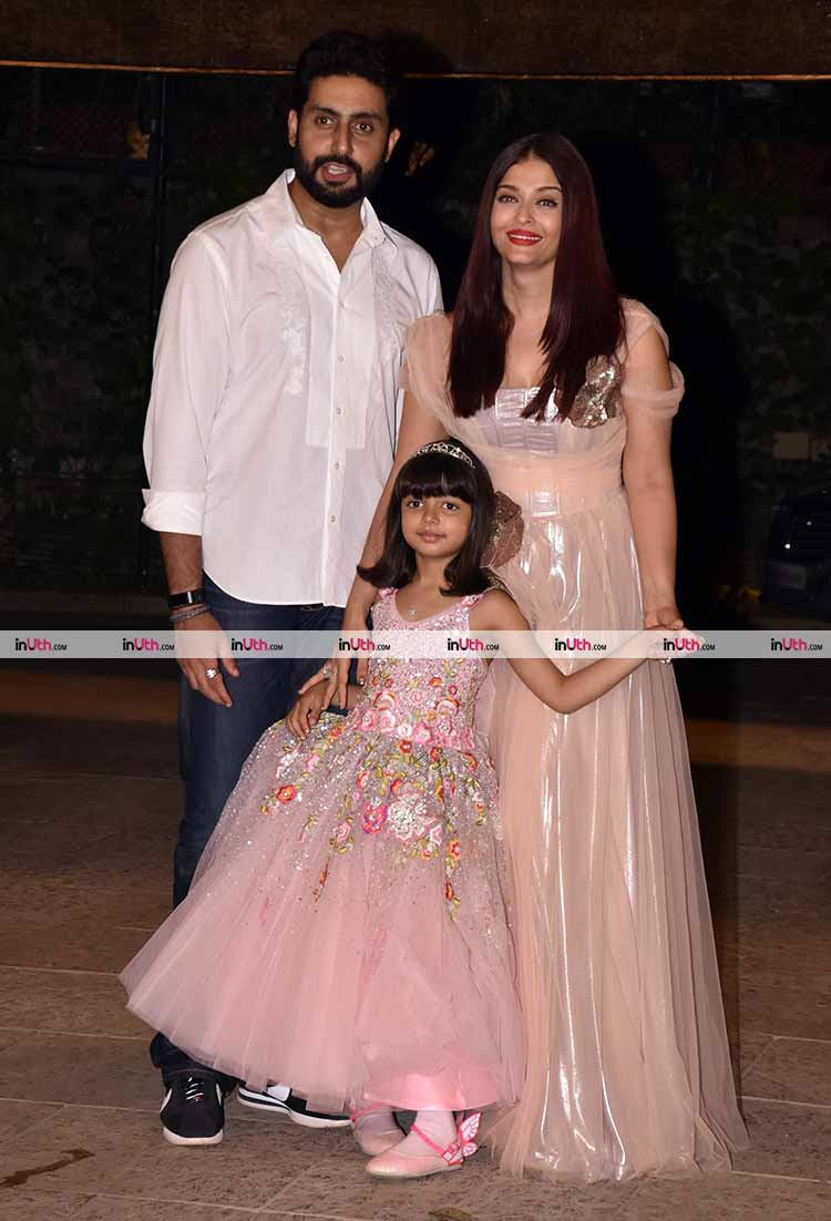 Abhishek Bachchan and Aishwarya Rai host extended birthday celebrations for Aaradhya