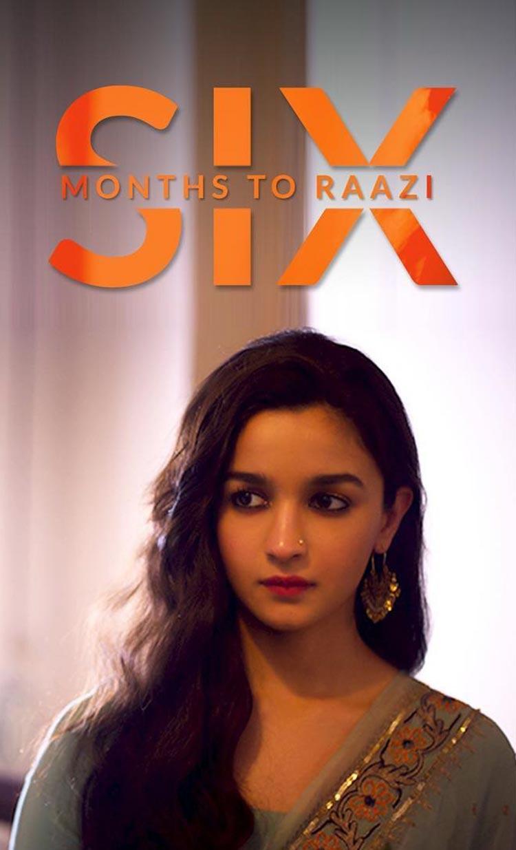 Alia Bhatt begins the countdown for Raazi