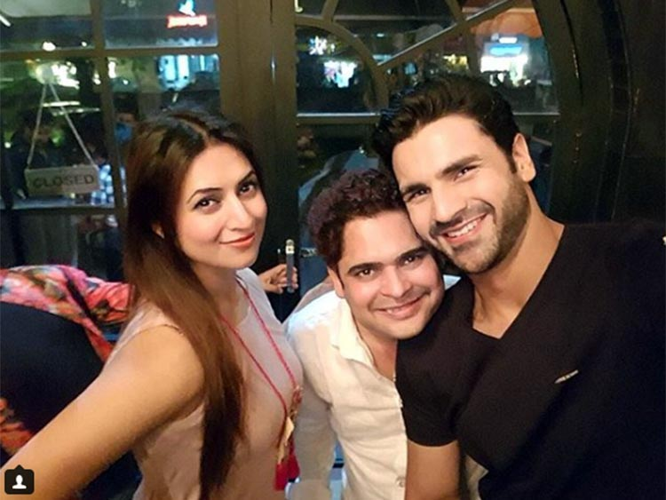 Divyanka Tripathi and Vivek Dahiya with birthday boy