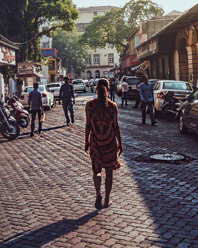 Halle Berry in Mumbai