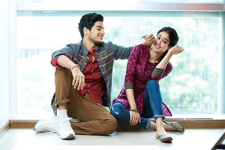 Ishaan Khatter and Janhvi Kapoor look adorable in this still from Dhadak