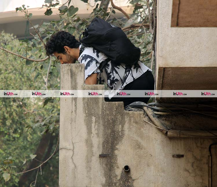 Ishaan Khatter makes the coolest exit off his gym