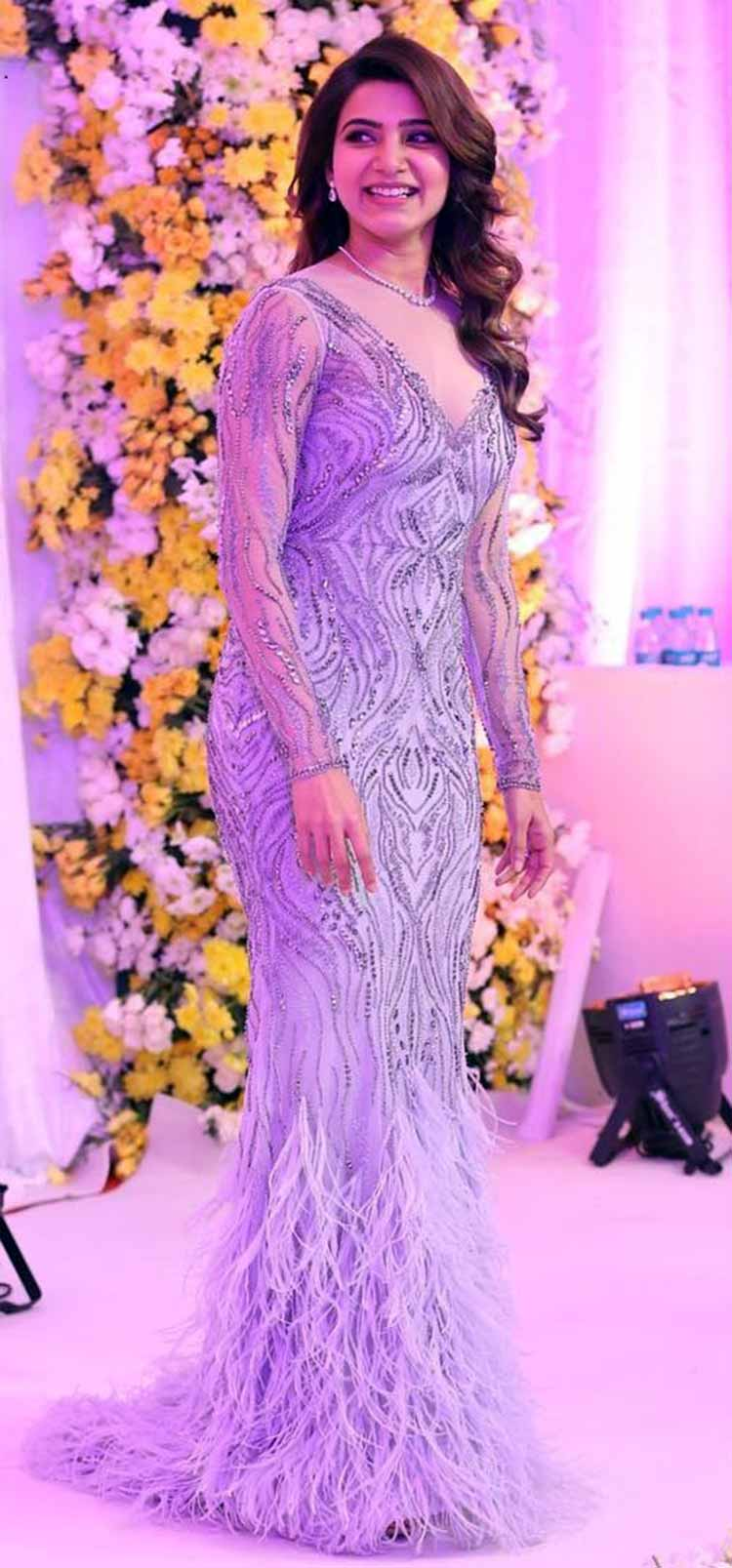 It's a wedding season wrap for the gorgeous Samantha Ruth Prabhu