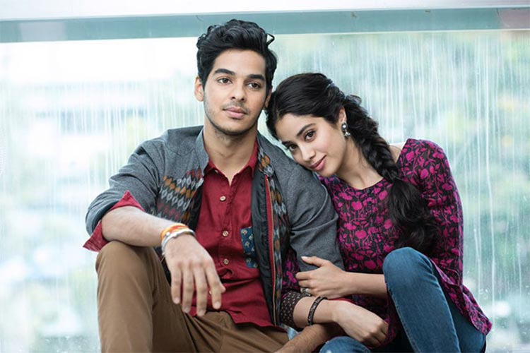 Janhvi Kapoor and Ishaan Khattar are all about chemistry in Dhadak