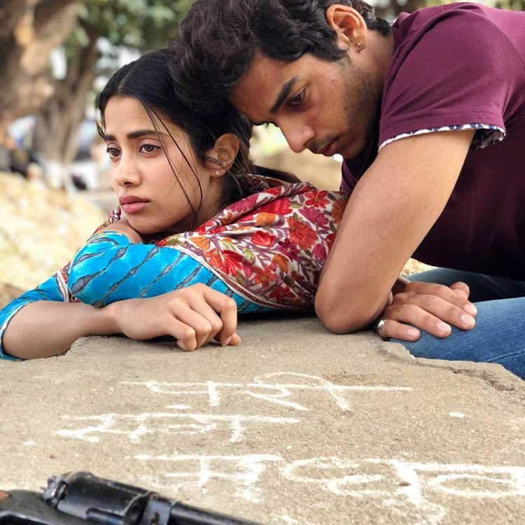 Jhanvi Kapoor and Ishaan Khatter look spellbinding in this pic from Dhadak