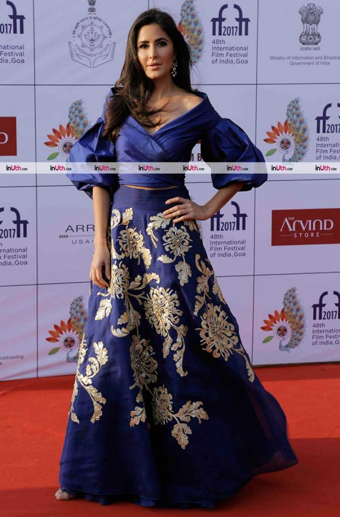Katrina Kaif at the IFFI 2017 closing ceremony