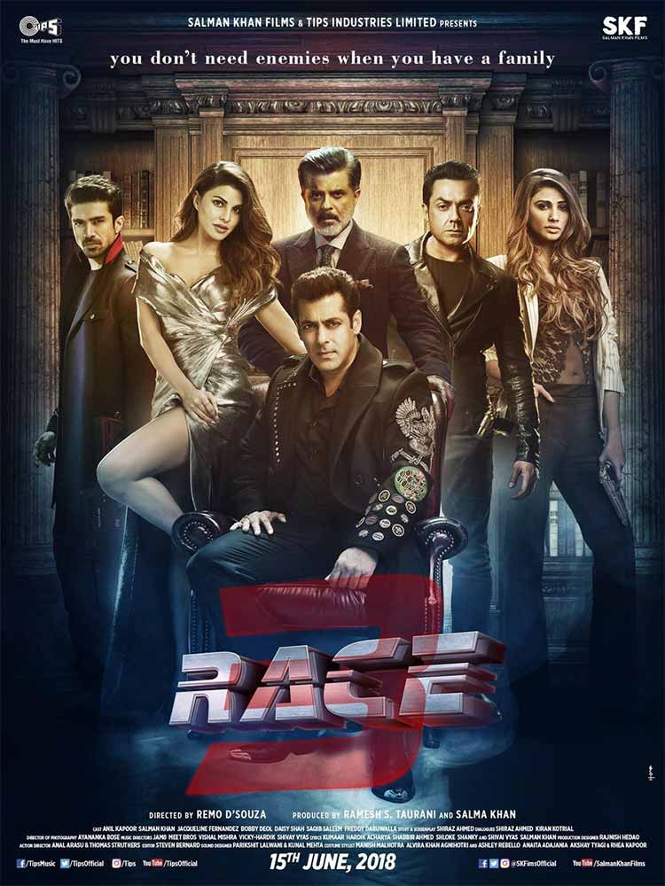 Race 3 team looks menacing in this poster