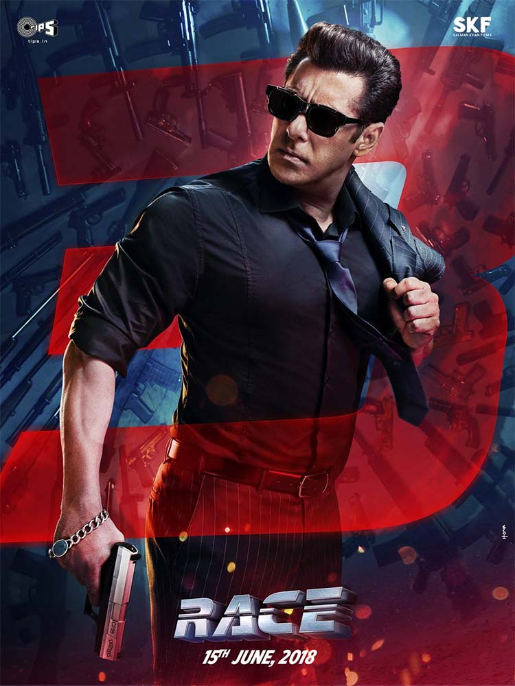 Salman Khan looks kickass in the first poster of Race 3