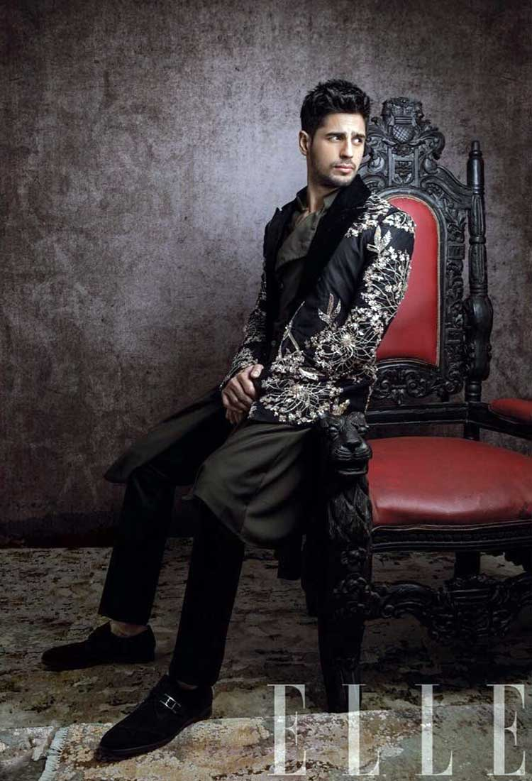 Sidharth Malhotra is making us swoon over his hot attitude in this Elle photoshoot