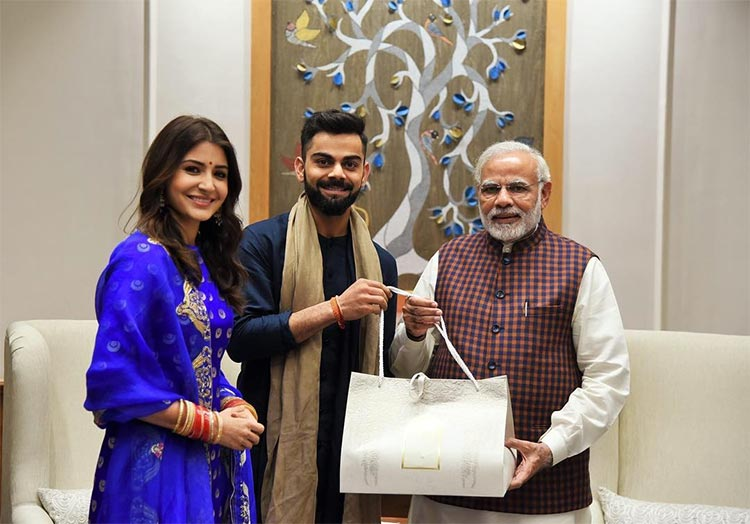 Virat Kohli and Anushka Sharma invite Narendra Modi to their wedding reception