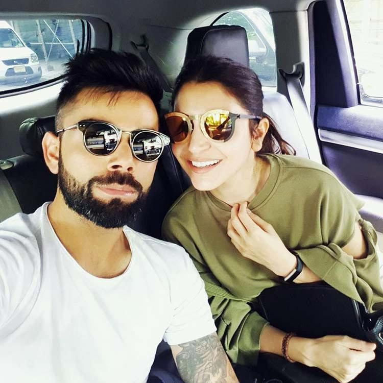 Virat Kohli's open declaration of love for Anushka Sharma