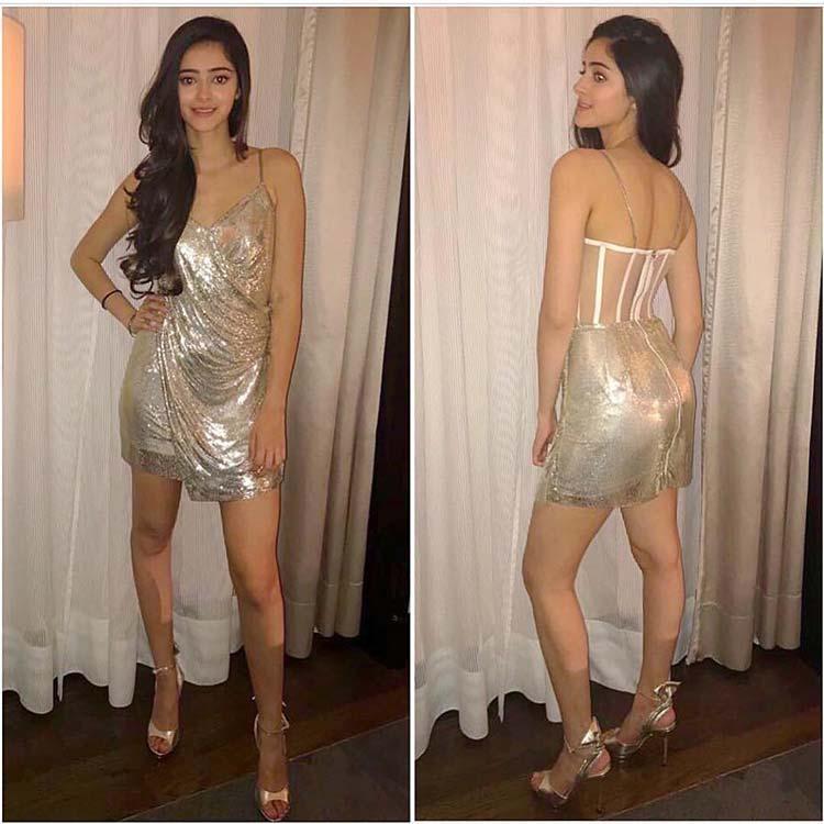 Ananya Pandey at le Bal after party