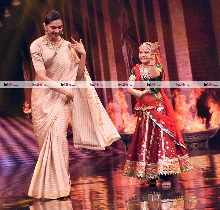 Deepika Padukone promotes Padmavati on Super Dancer 2
