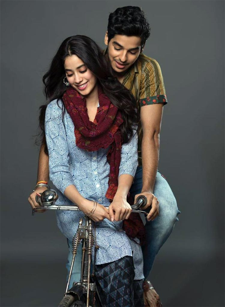 Ishaan Khattar and Janhvi Kapoor are making a beautiful pair in Dhadak