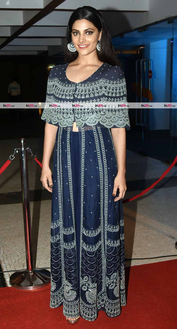 Saiyami Kher at IFFI 2017 attending the premiere of Beyond The Clouds