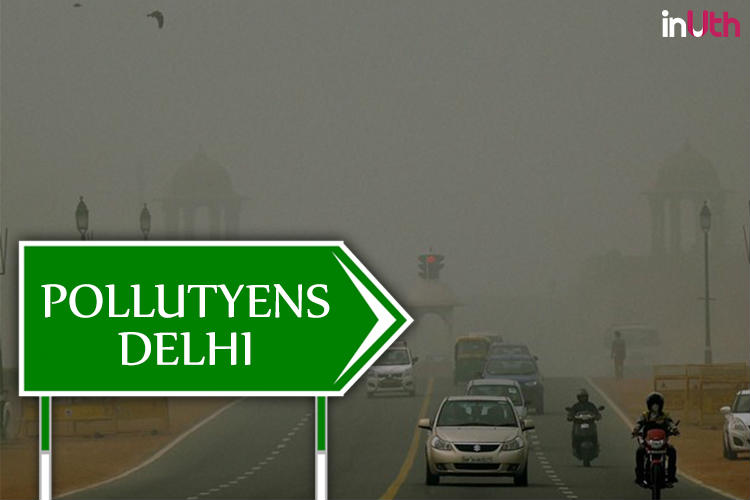Luttyens Delhi has become Pollutuyens Delhi | Photo created for InUth.com
