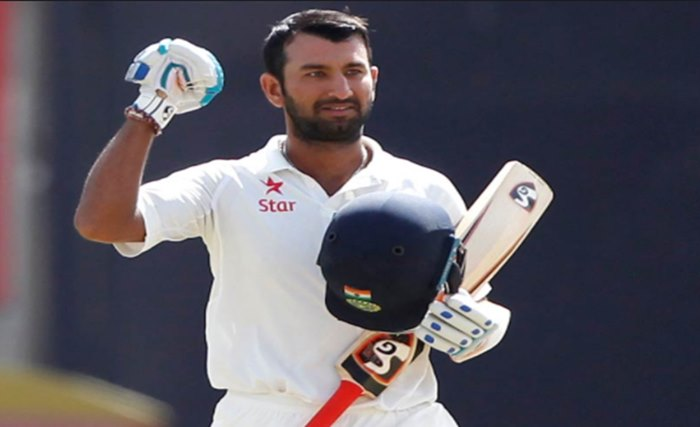 Cheteshwar Pujara completes 1000 Test runs in 2017, heading to become highest run-getter of the year