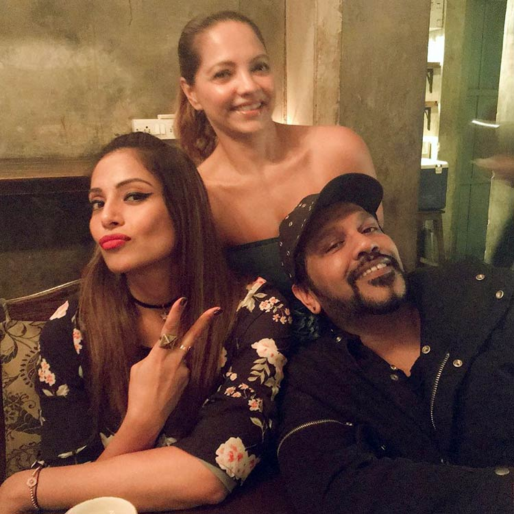 Bipasha Basu with Rocky Star and Deanne Panday