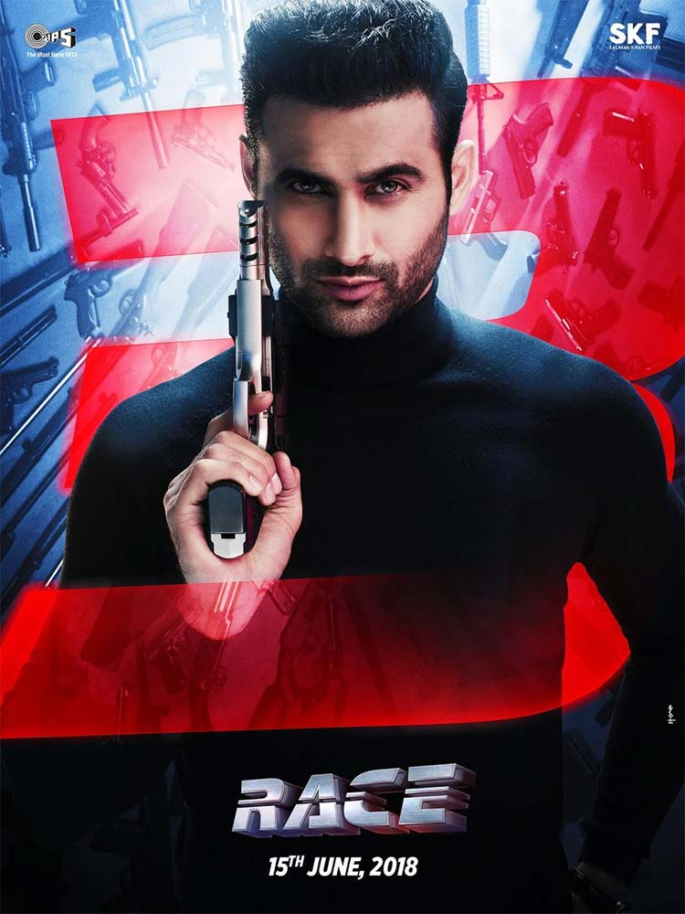 Freddy Daruwala's look from Race 3