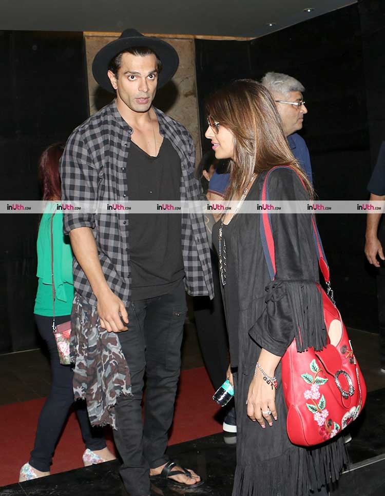 Karan Singh Grover and Bipasha Basu spotted in the city