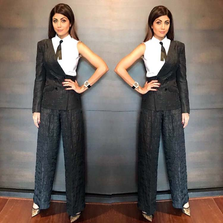 Shilpa Shetty rocking the fusion look in this Insta pic