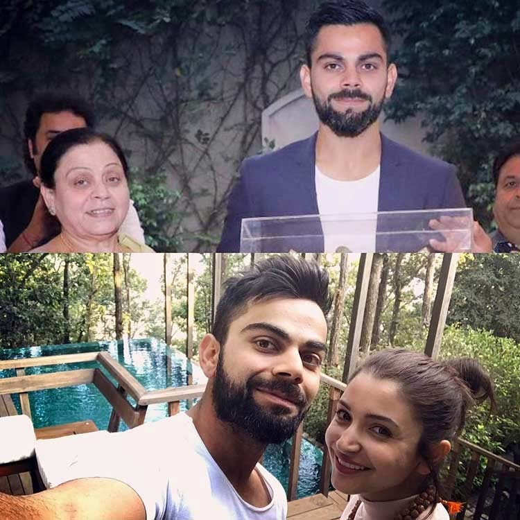 Virat Kohli's pic with Anushka Sharma and his mom is heart-warming