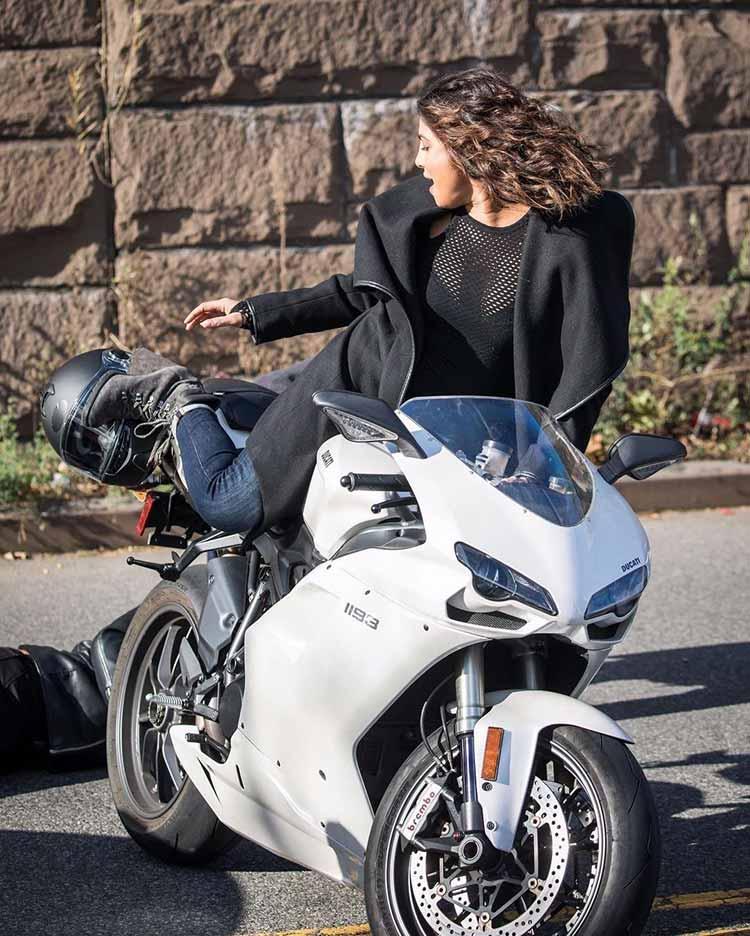 Quantico 3 star Priyanka Chopra on her Ducati