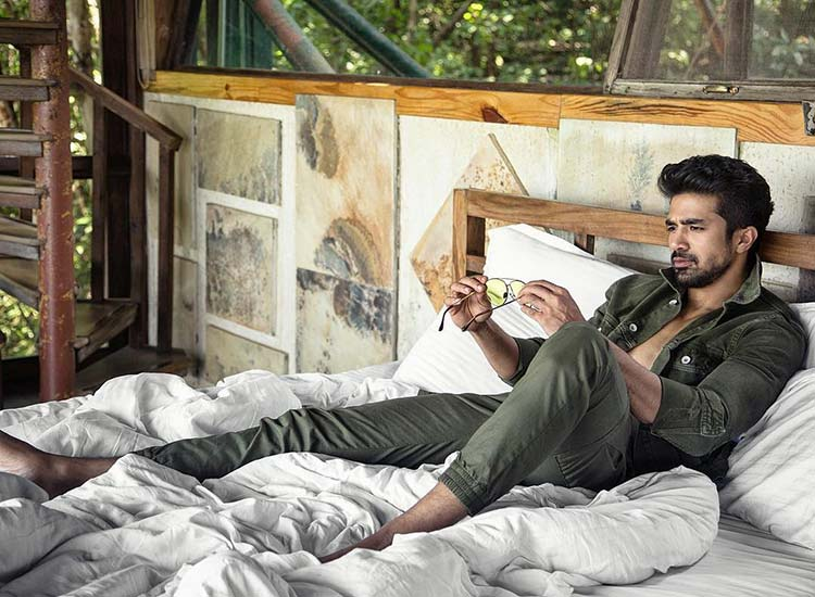 Saqib Saleem started his career as a model