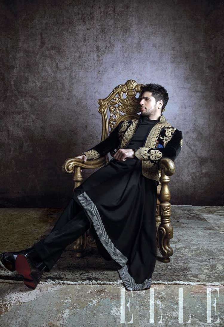 Sidharth Malhotra makes royal looks casual in his latest photoshoot