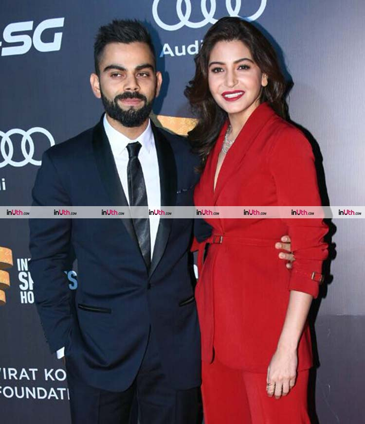 Virat Kohli and Anushka Sharma look adorable in this pic