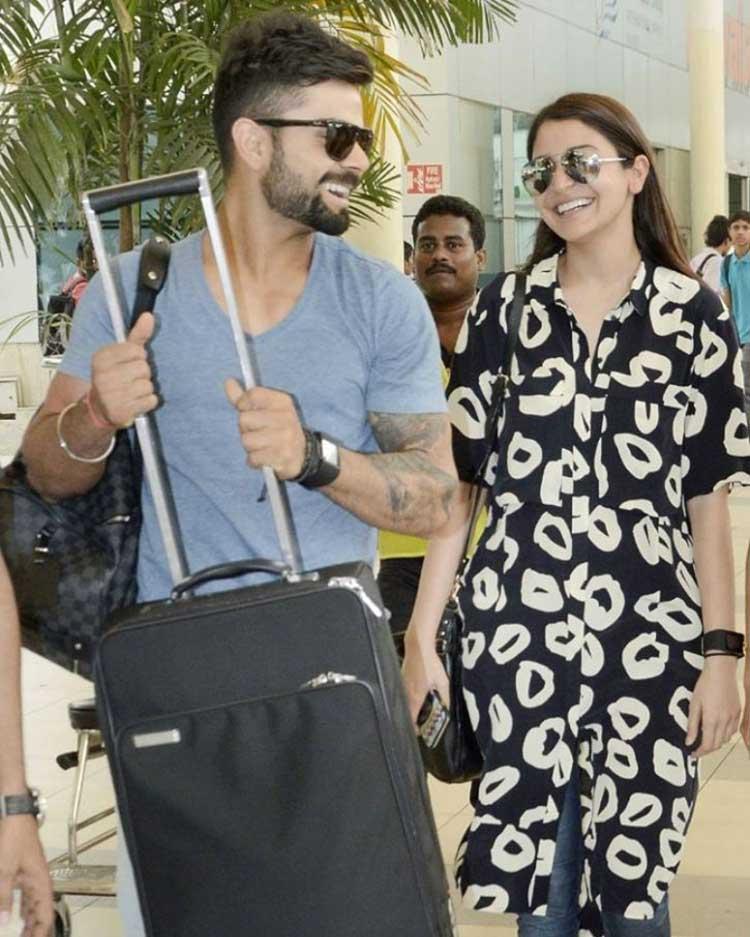Virat Kohli and Anushka Sharma look adorable together