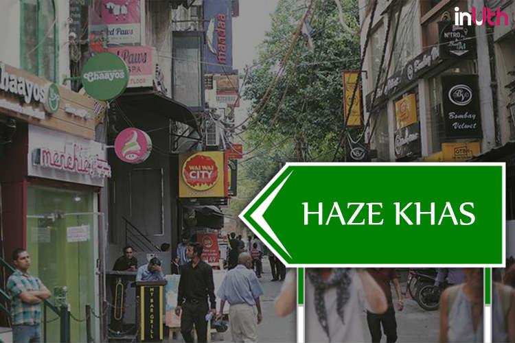 Hauz Khas has become Haze Khas | Photo created for InUth.com