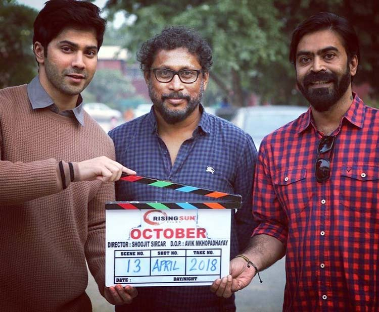 Varun Dhawan and Shoojit Sircar share the date of October release
