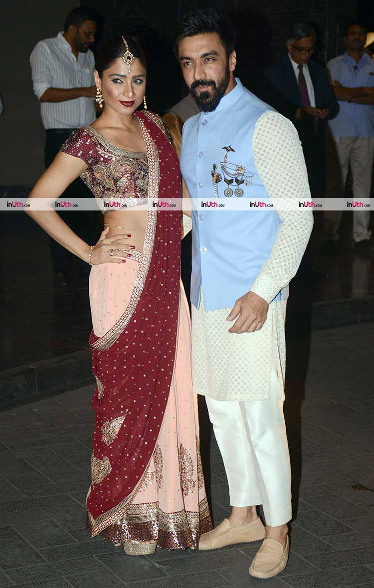 Aashish Chaudhary And Wife hazel keech at ...