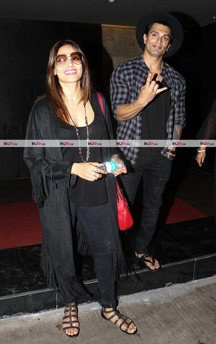 Bipasha Basu and Karan Singh Grover spotted in Mumbai