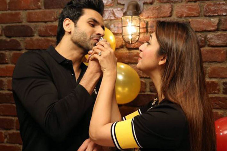 Divyanka Tripathi celebrating husband Vivek Dahiya's birthday