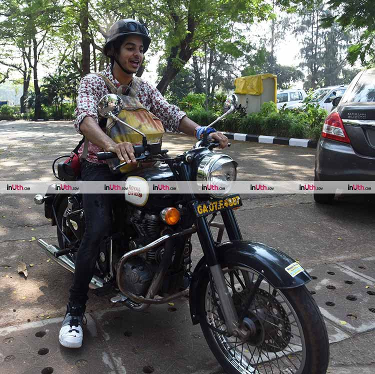 Ishaan Khatter spotted in Goa after the premiere of Beyond The Clouds