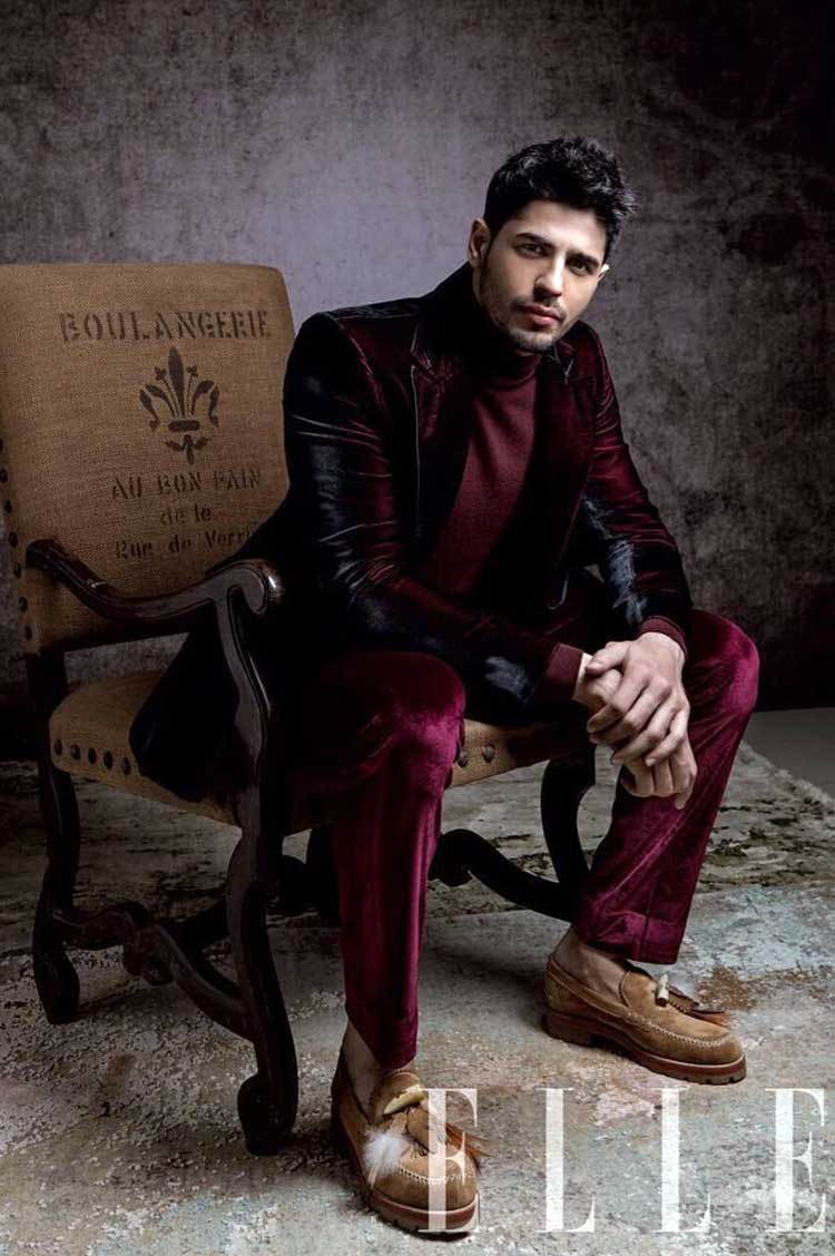 Sidharth Malhotra is making the world stop and stare at his Elle photoshoot