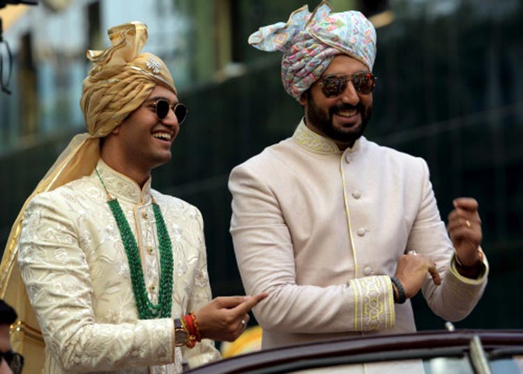 Abhishek Bachchan at a family wedding
