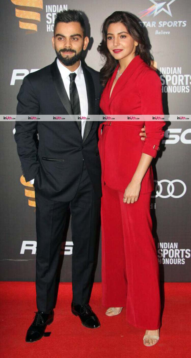 Anushka Sharma attends Indian Sports Honors with Virat Kohli
